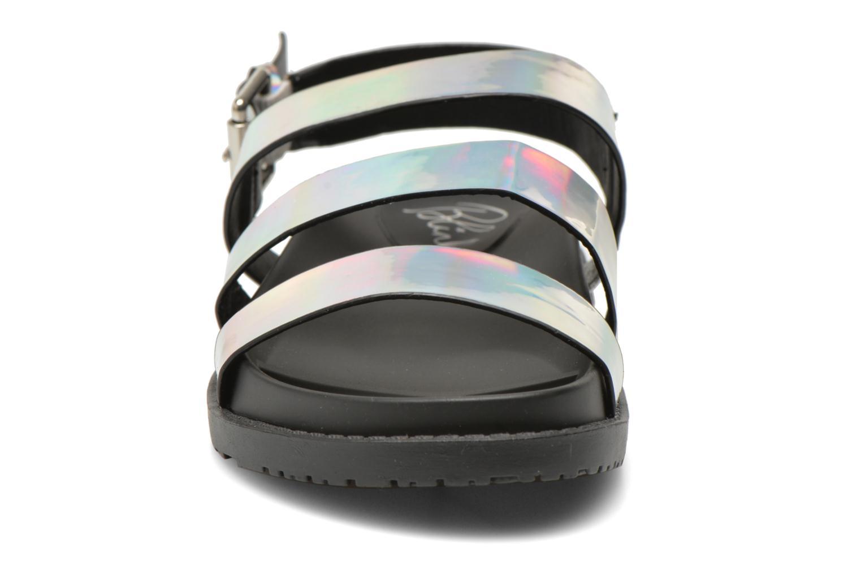 Sandalen Blink Kural silber schuhe getragen