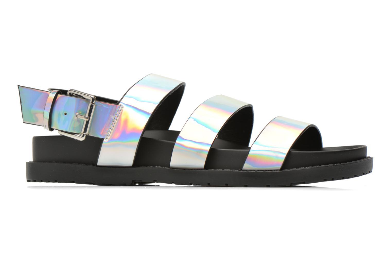 Sandales et nu-pieds Blink Kural Argent vue derrière