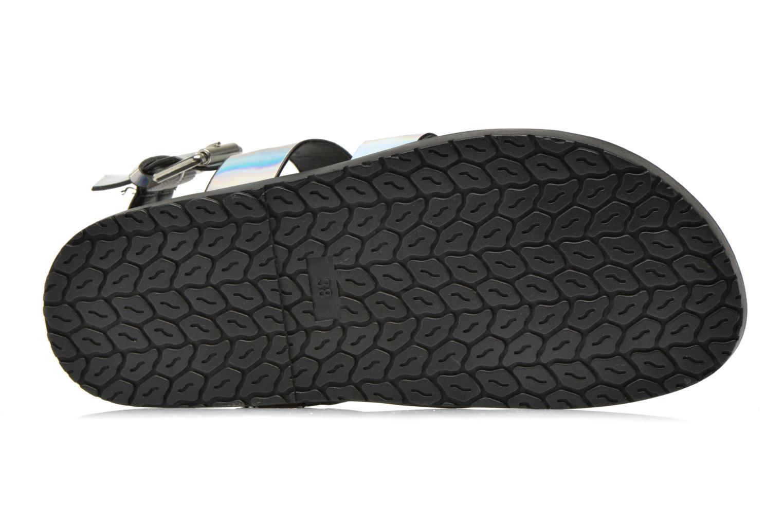 Sandales et nu-pieds Blink Kural Argent vue haut