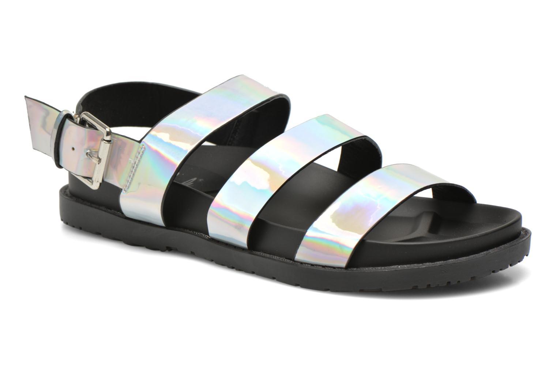 Sandals Blink Kural Silver detailed view/ Pair view