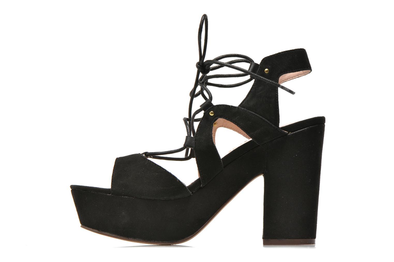 Sandali e scarpe aperte Bronx Jada Nero immagine frontale