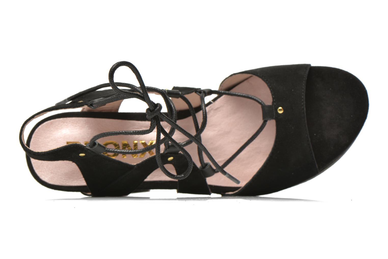 Sandali e scarpe aperte Bronx Jada Nero immagine sinistra