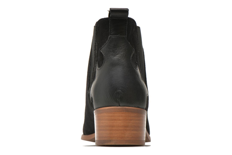 Bottines et boots Bronx Vik Noir vue droite