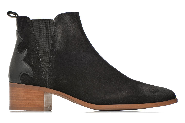 Bottines et boots Bronx Vik Noir vue derrière