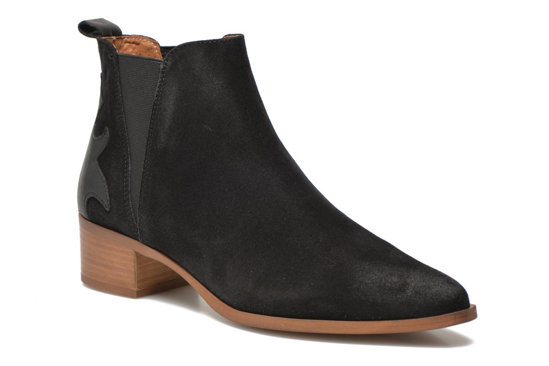 Bottines et boots Bronx Vik Noir vue détail/paire