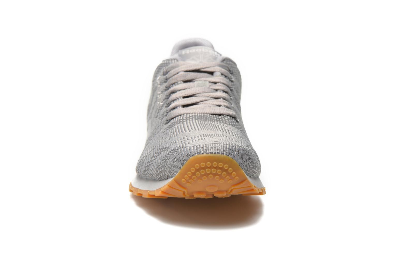 Baskets Reebok Cl runner jacquard tc Gris vue portées chaussures