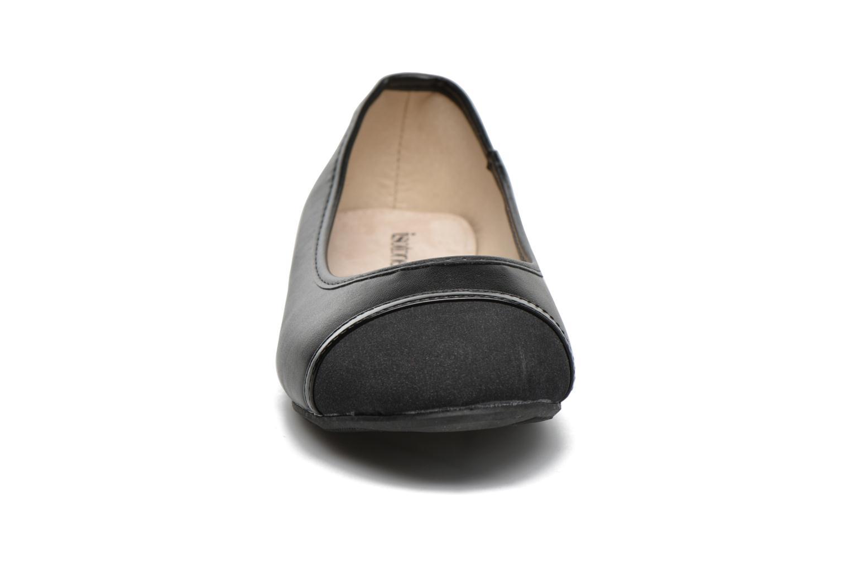 Ballerinas Isotoner Ballerine schwarz schuhe getragen