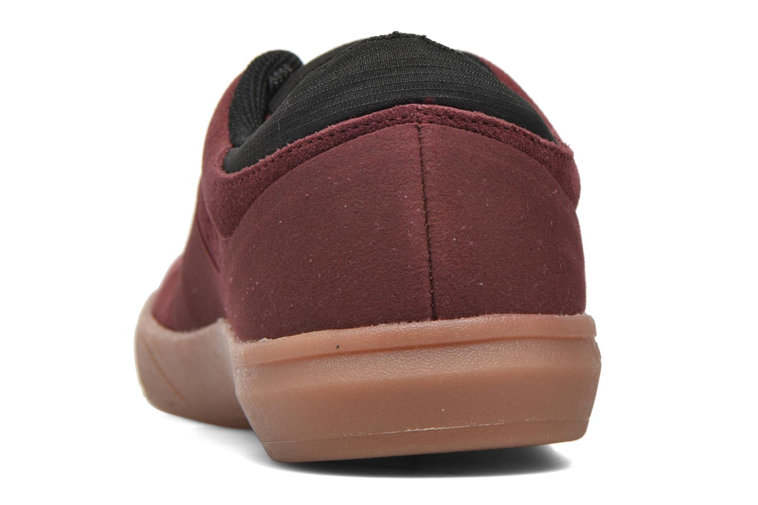 Trainers Globe Mahalo SG Burgundy view from the right