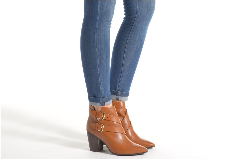 Stiefeletten & Boots Guess Hea schwarz ansicht von unten / tasche getragen