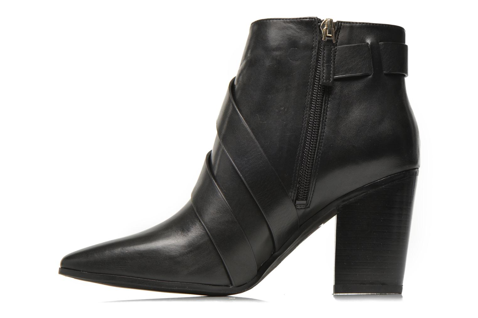 Ankle boots Guess Hea Black front view