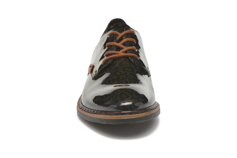 Zapatos con cordones Rieker Mud 50614 Azul vista del modelo