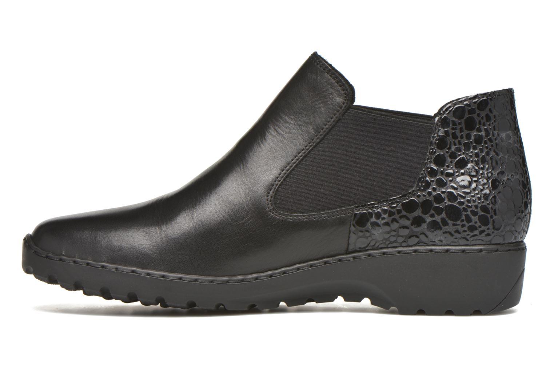 Bottines et boots Rieker Laure L6090 Noir vue face