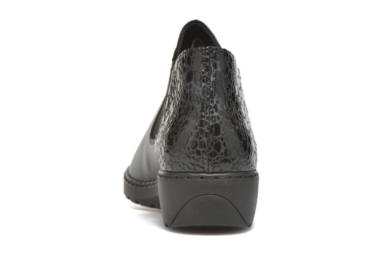 Bottines et boots Rieker Laure L6090 Noir vue droite