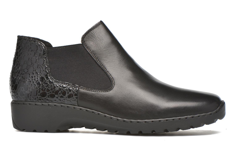 Bottines et boots Rieker Laure L6090 Noir vue derrière
