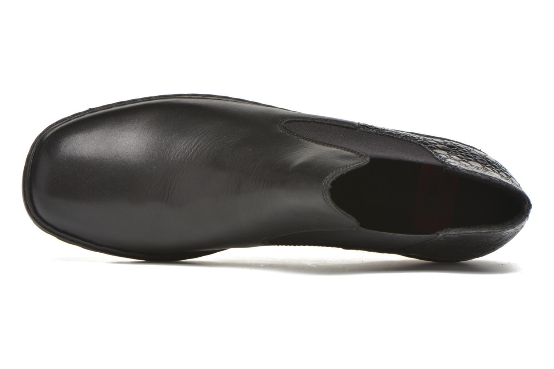 Bottines et boots Rieker Laure L6090 Noir vue gauche