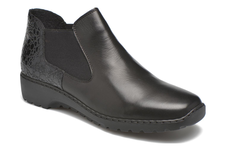Bottines et boots Rieker Laure L6090 Noir vue détail/paire