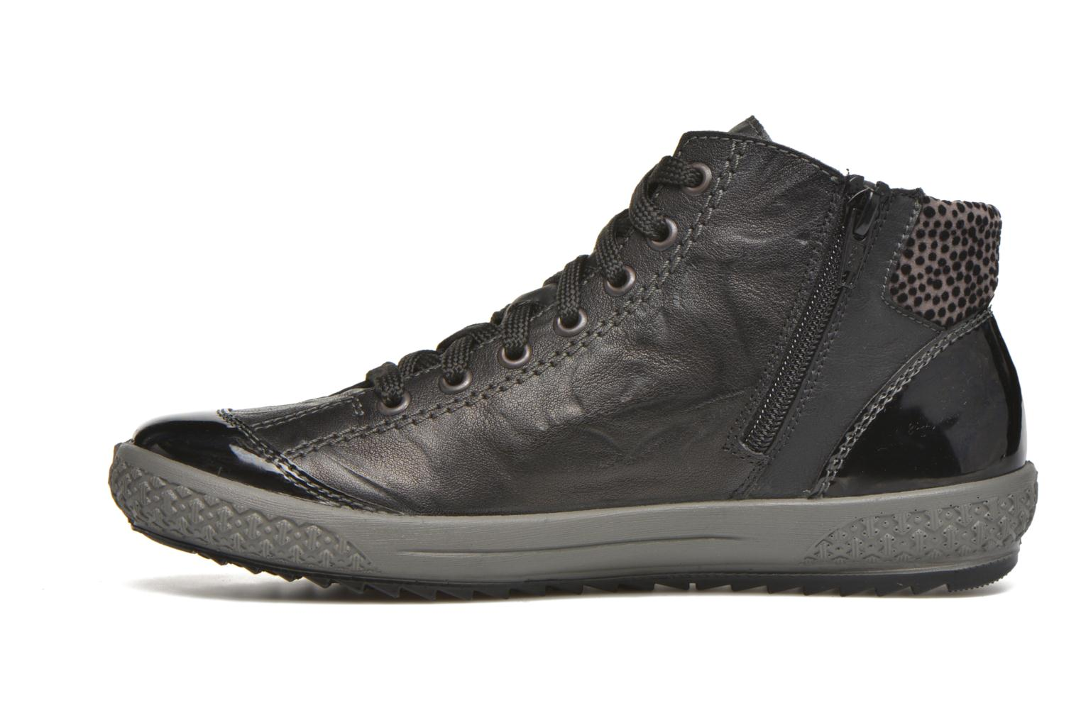 Trainers Rieker Gilb M6143 Black front view