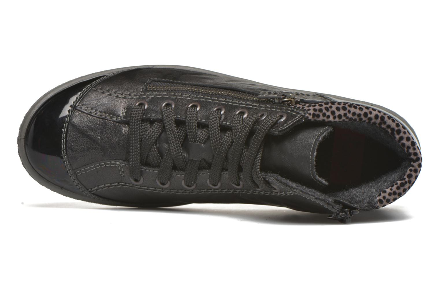 Trainers Rieker Gilb M6143 Black view from the left