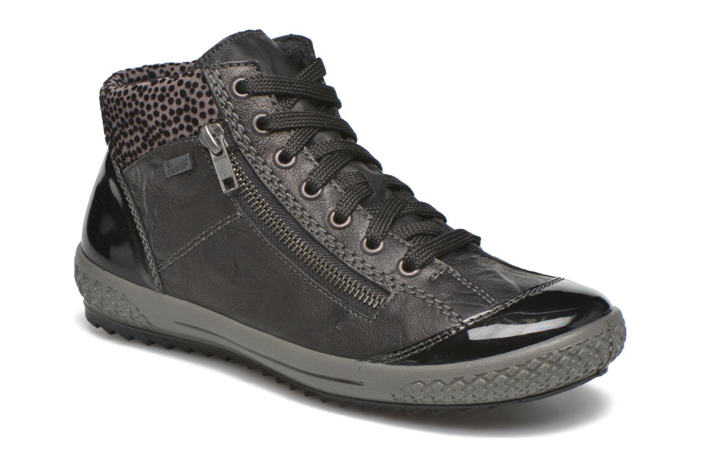 Sneakers Rieker Gilb M6143 Sort detaljeret billede af skoene