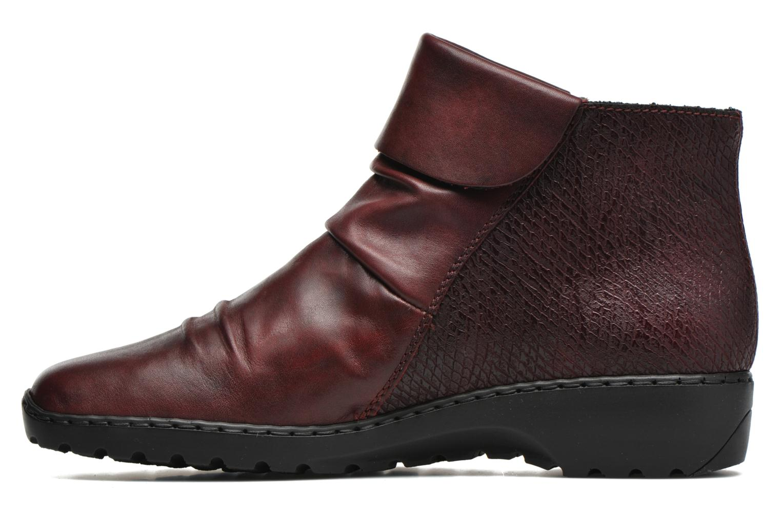 Ankle boots Rieker Mag Z6083 Red front view