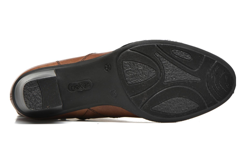 Bottines et boots Rieker Lina Z7651 Marron vue haut