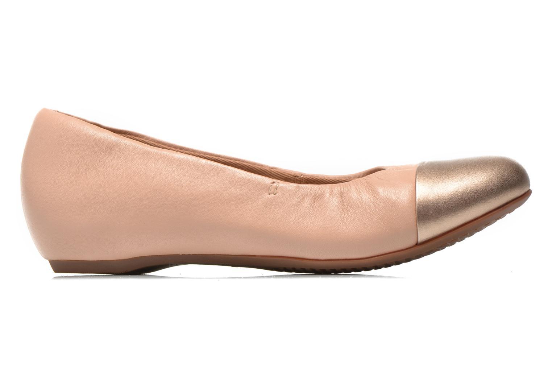 Ballerinas Clarks Alitay Susan beige ansicht von hinten