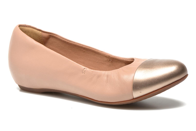 Bailarinas Clarks Alitay Susan Beige vista de detalle / par