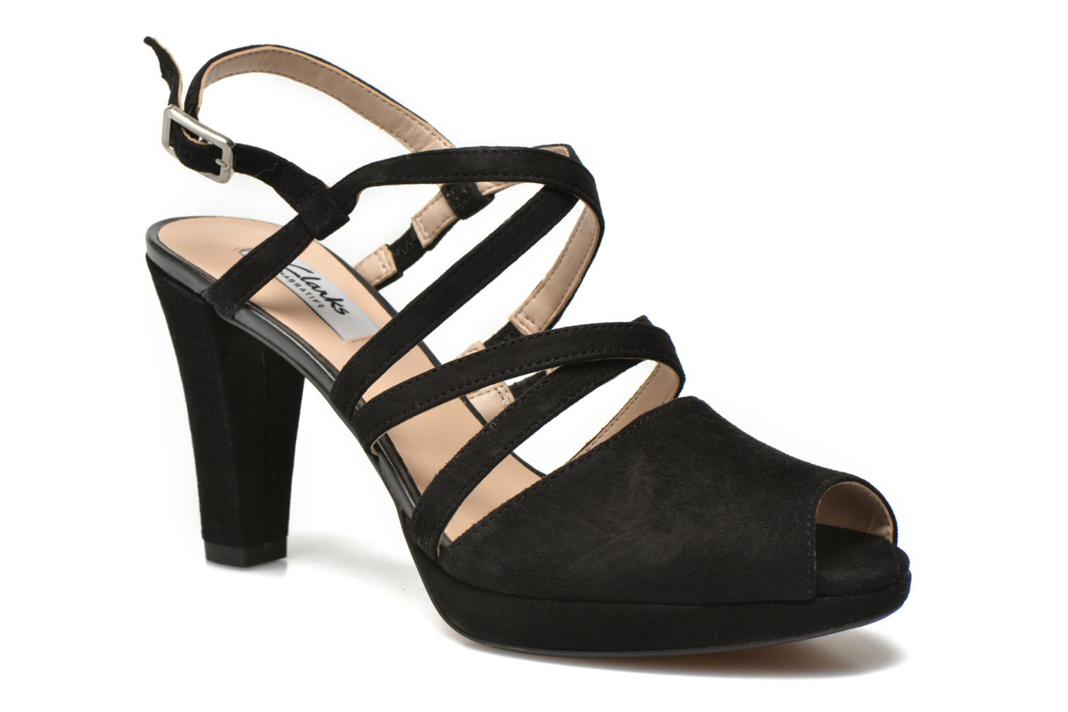 Kendra Cool Black Suede