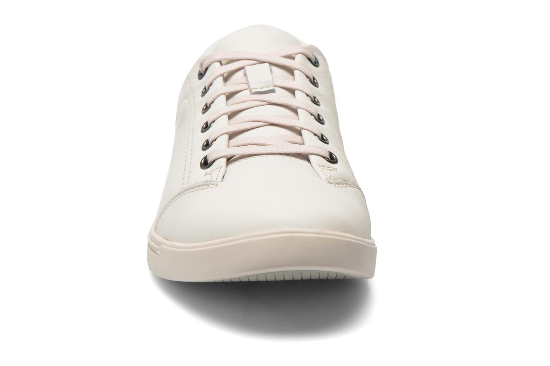 Baskets Clarks NewoodStreet Blanc vue portées chaussures