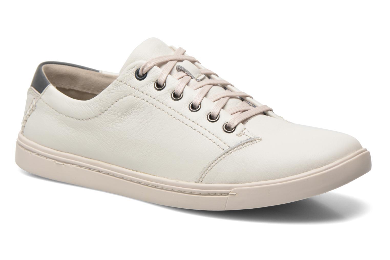 NewoodStreet White leather