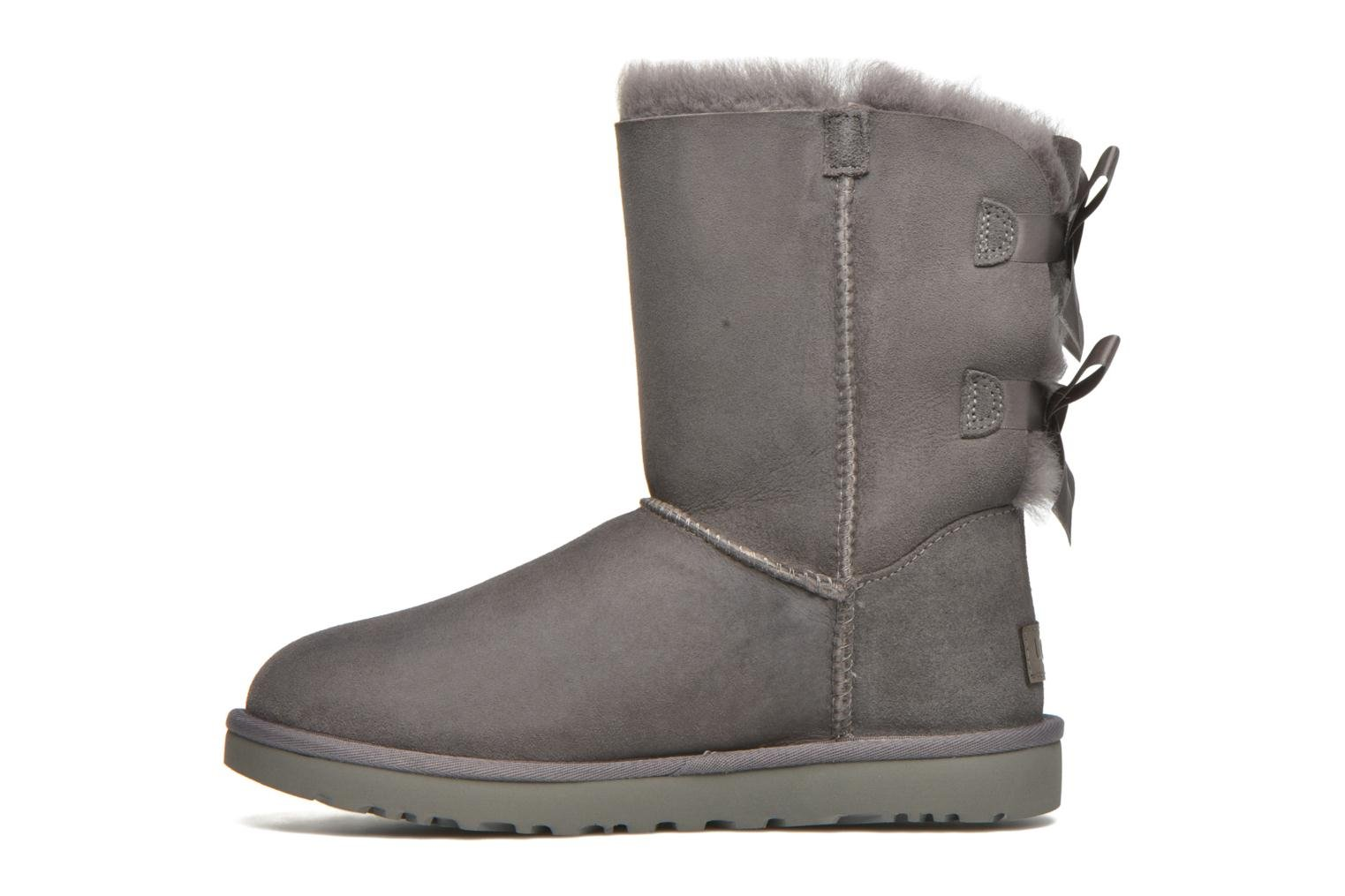 Bottines et boots UGG Bailey Bow II Gris vue face