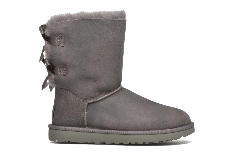 Stiefeletten & Boots UGG Bailey Bow II grau ansicht von hinten