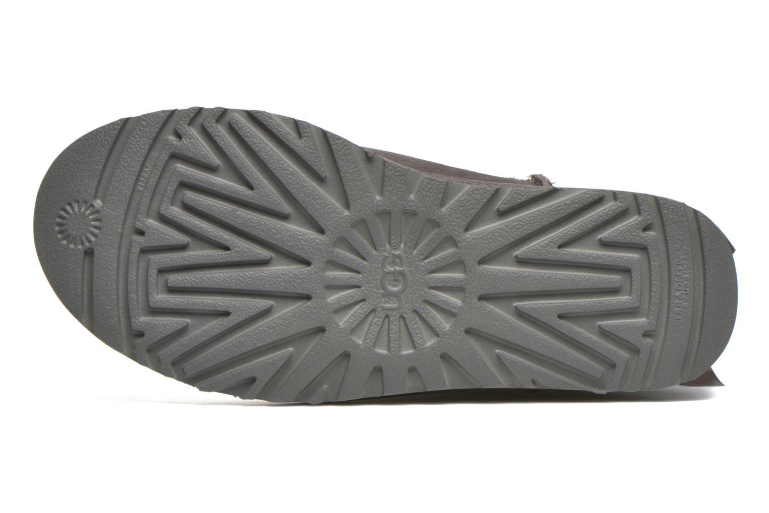 Stiefeletten & Boots UGG Bailey Bow II grau ansicht von oben