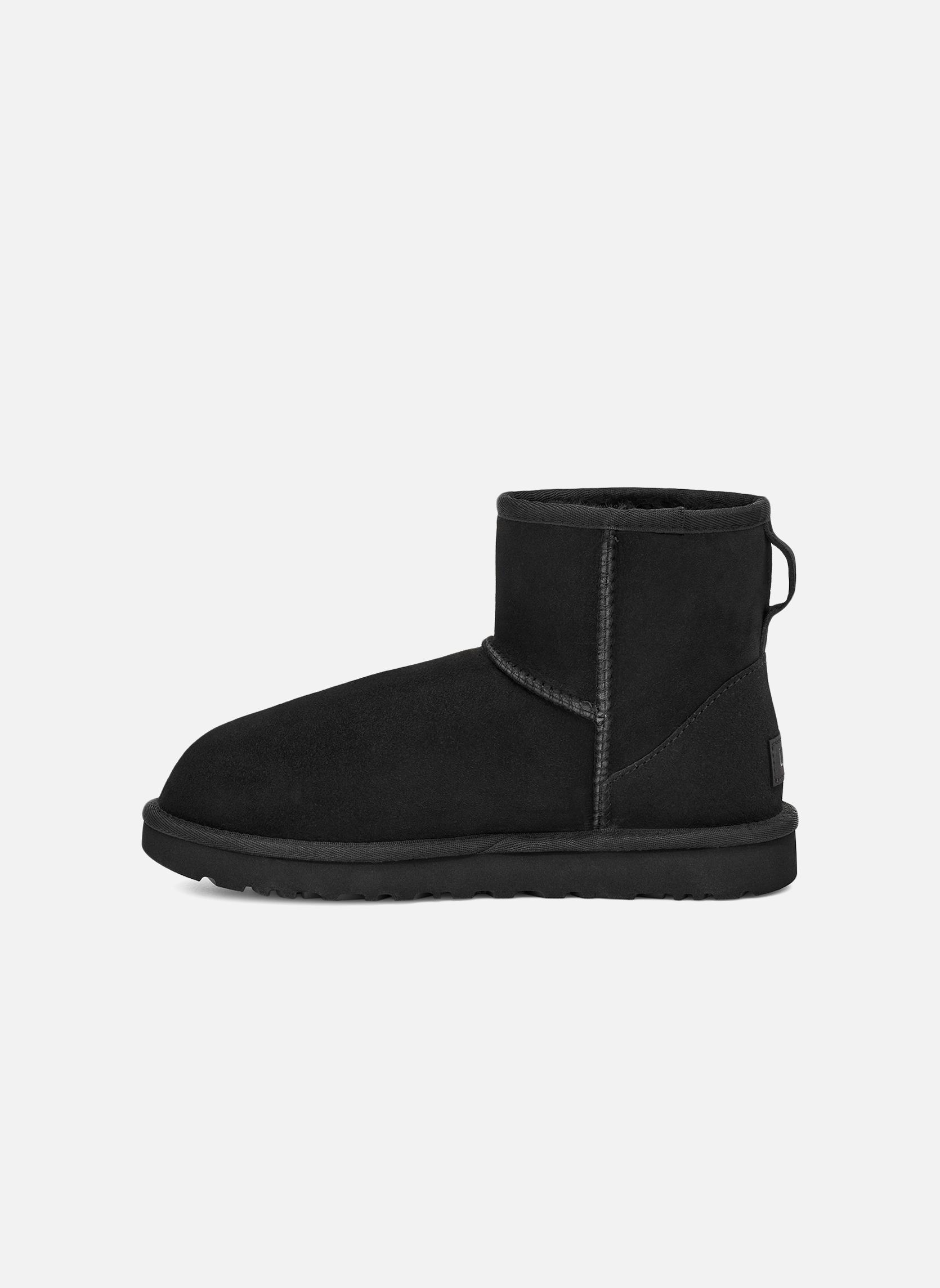 Boots en enkellaarsjes UGG W Classic Mini II Zwart voorkant