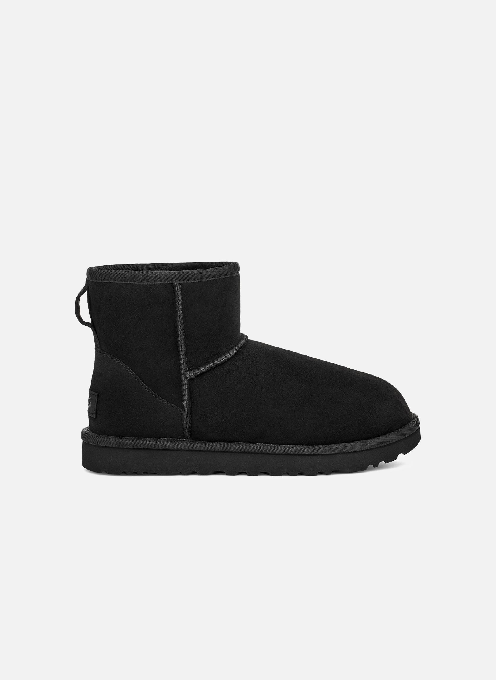 Boots en enkellaarsjes UGG W Classic Mini II Zwart rechts
