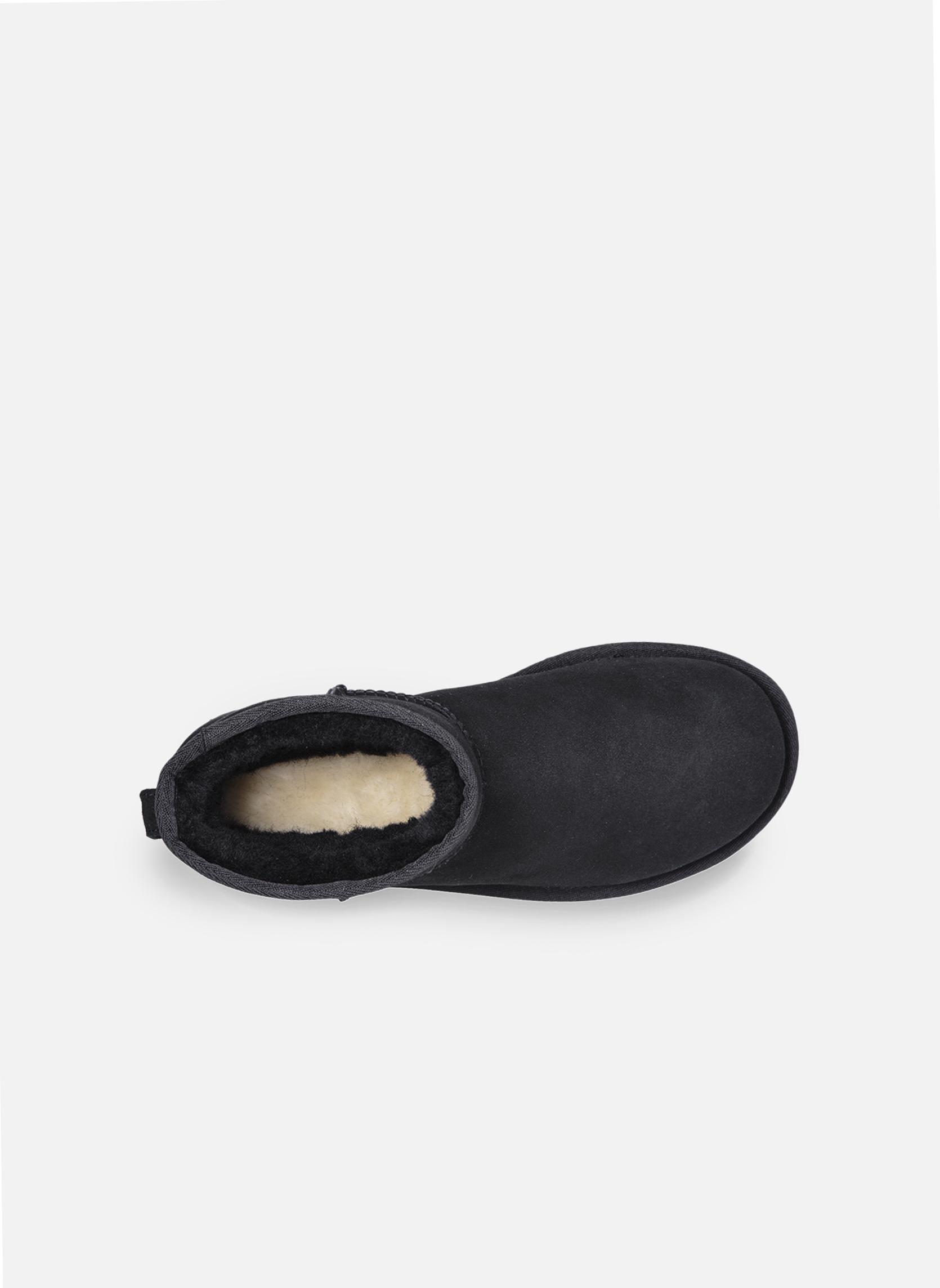 Ankle boots UGG W Classic Mini II Black back view
