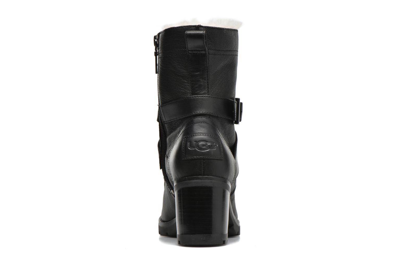 Bottines et boots UGG W Ingrid Noir vue droite
