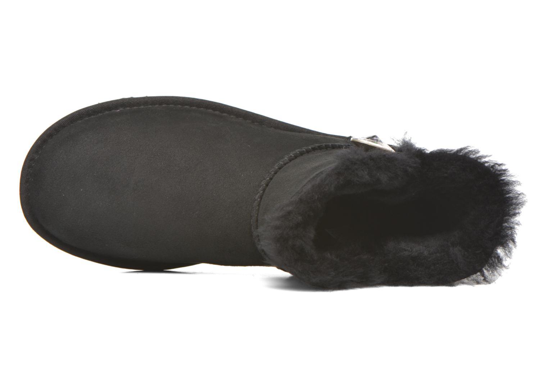 Bottines et boots UGG W Mini Bailey Button Bling Noir vue gauche