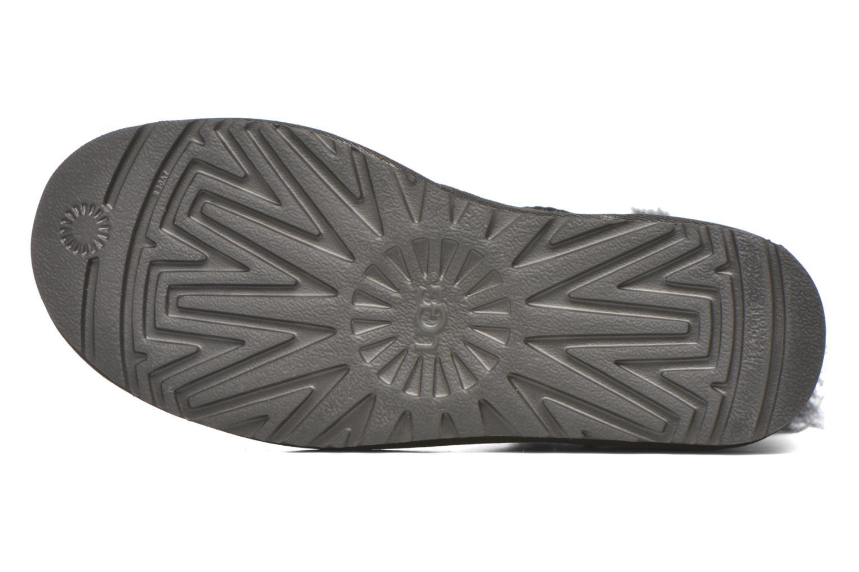 Stiefeletten & Boots UGG W Mini Bailey Button Bling schwarz ansicht von oben