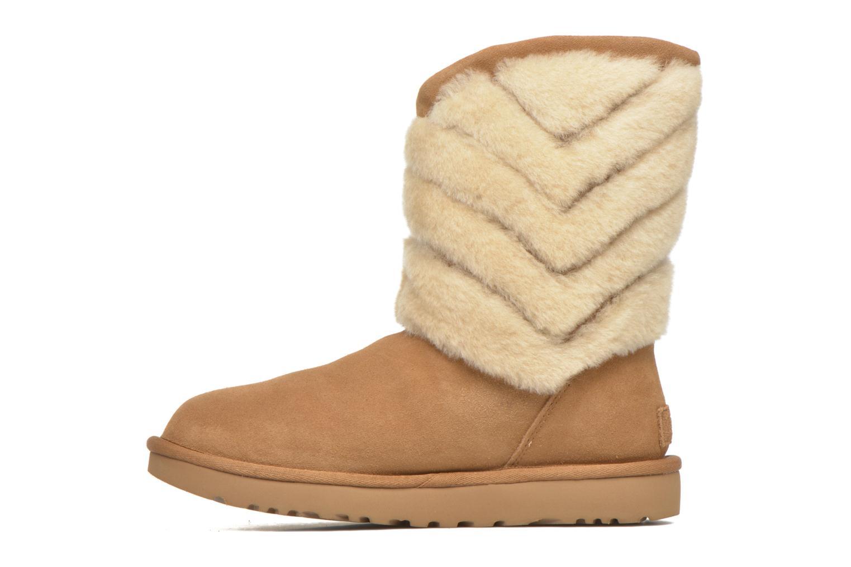 Bottines et boots UGG W Tania Marron vue face