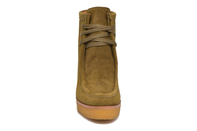 Stiefeletten & Boots What For Bald grün schuhe getragen
