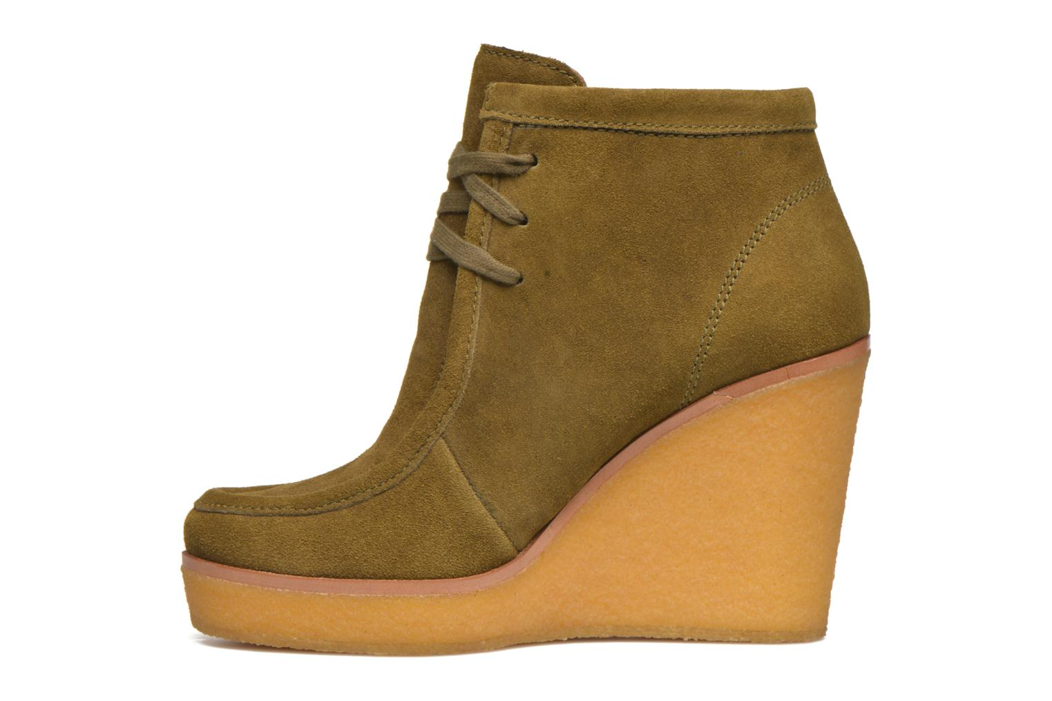 Ankle boots What For Bald Green front view