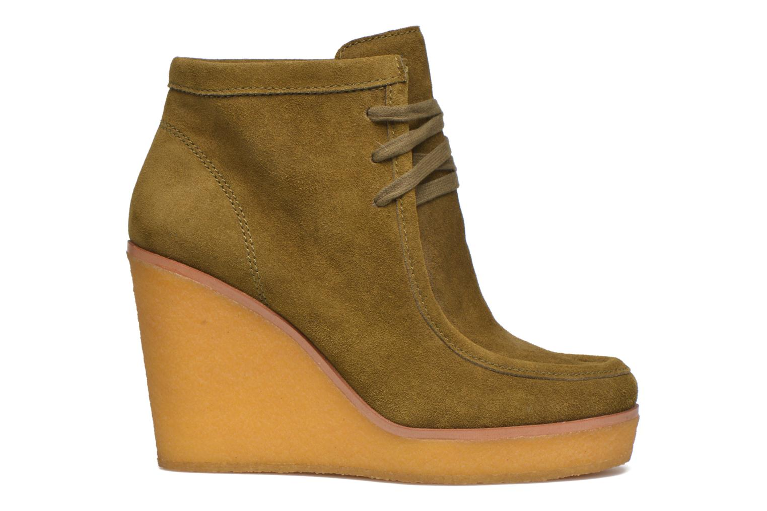 Ankle boots What For Bald Green back view