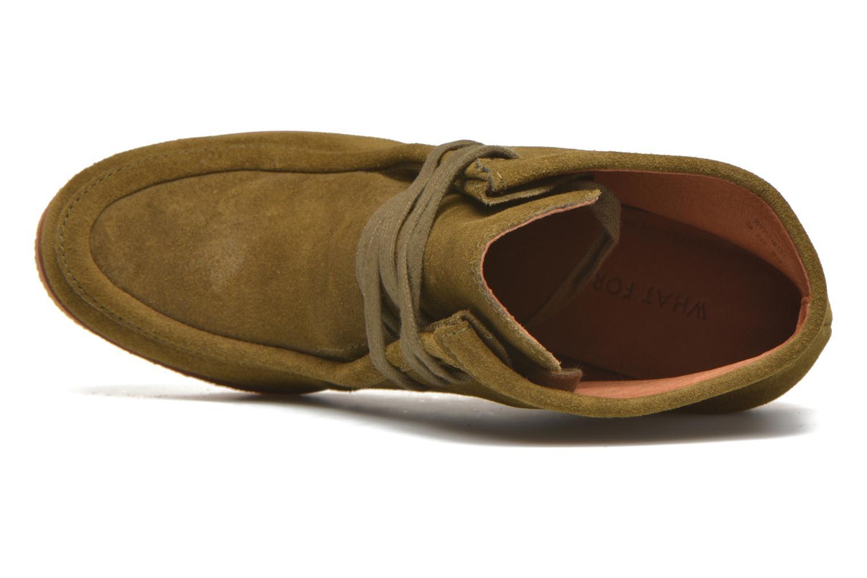 Bottines et boots What For Bald Vert vue gauche
