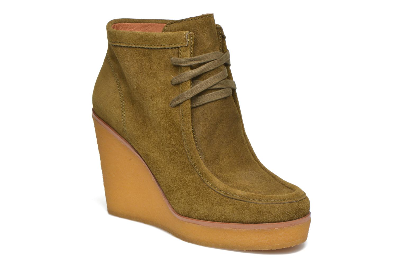Ankle boots What For Bald Green detailed view/ Pair view