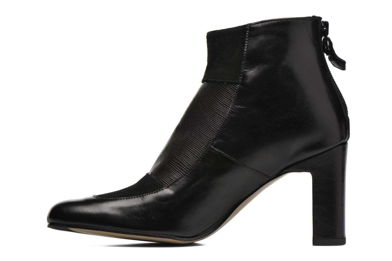 Ankle boots Elizabeth Stuart Gilou 556 Black front view