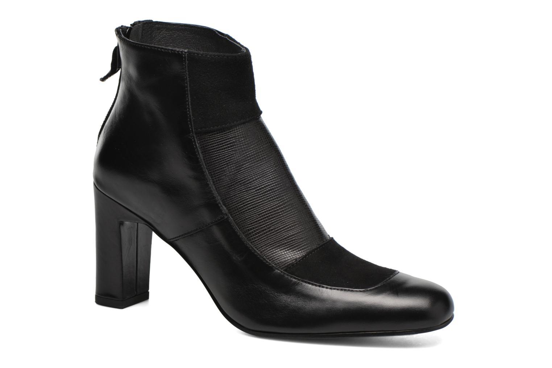 Ankle boots Elizabeth Stuart Gilou 556 Black detailed view/ Pair view