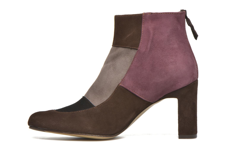 Ankle boots Elizabeth Stuart Gilou 300-4 Brown front view