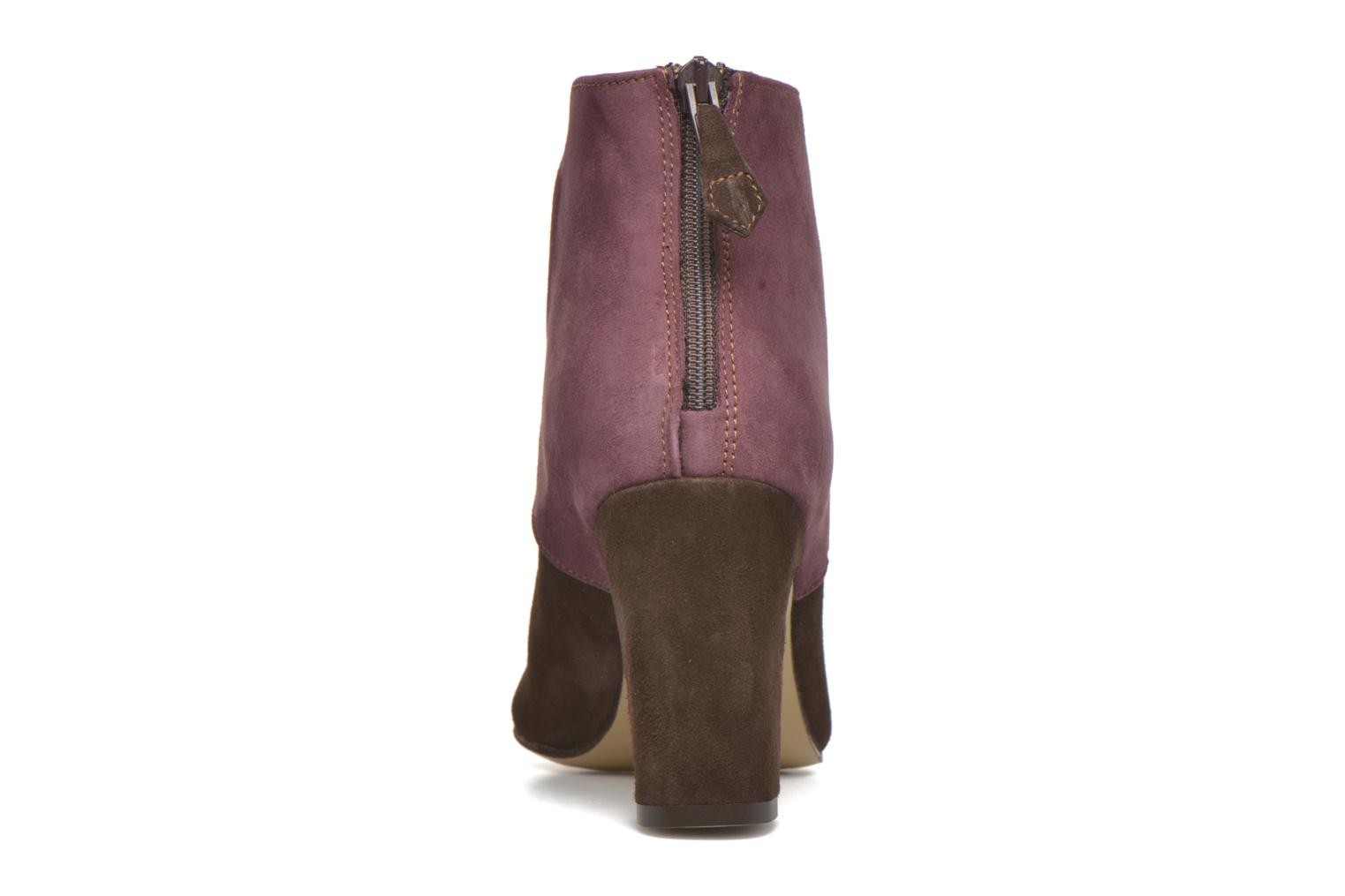 Ankle boots Elizabeth Stuart Gilou 300-4 Brown view from the right
