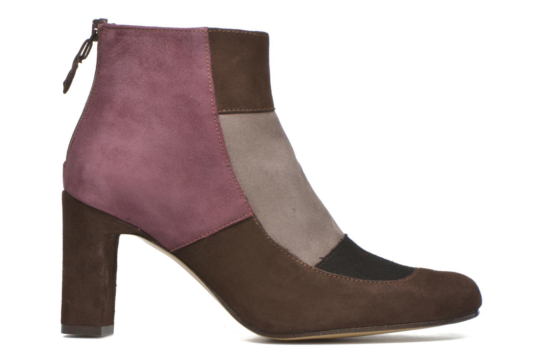 Ankle boots Elizabeth Stuart Gilou 300-4 Brown back view